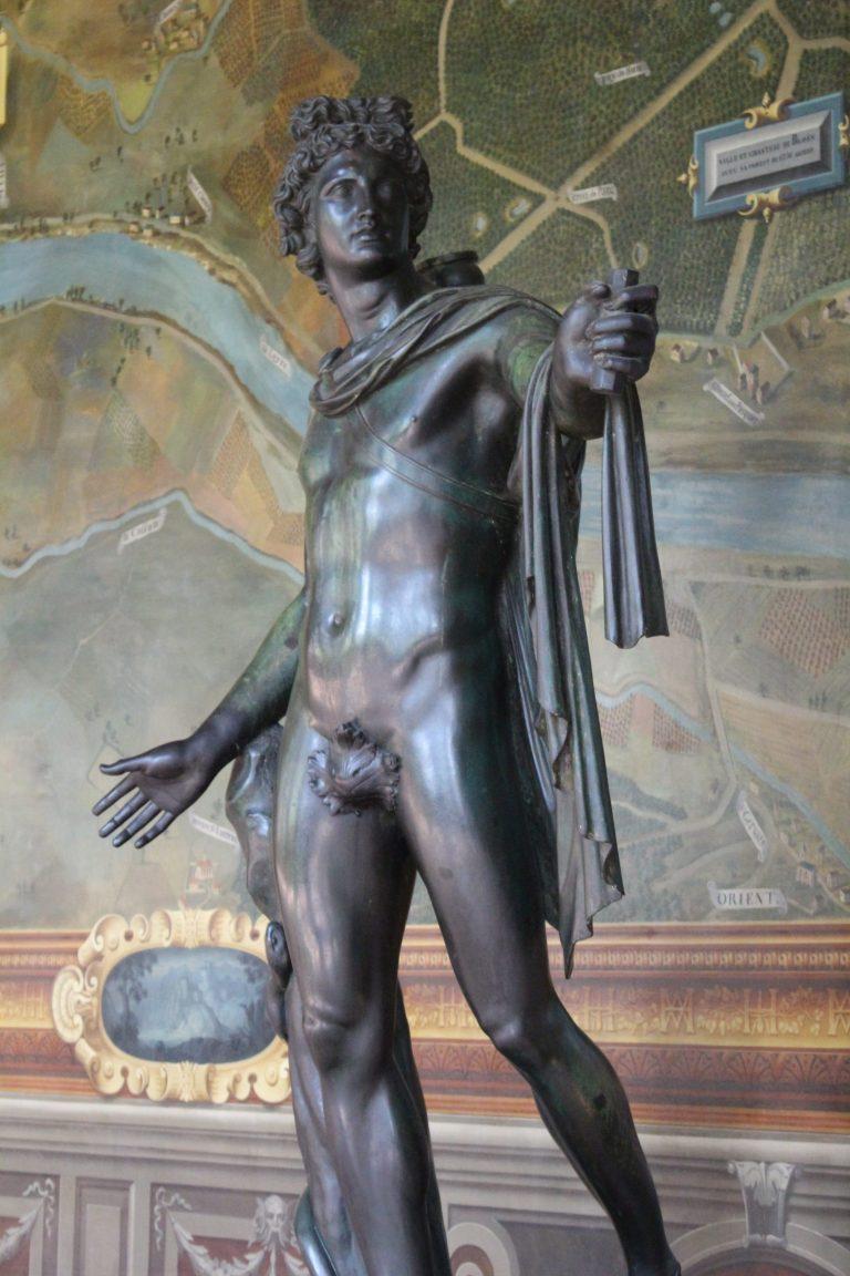 Apollon du Belvédère - château de Fontainebleau