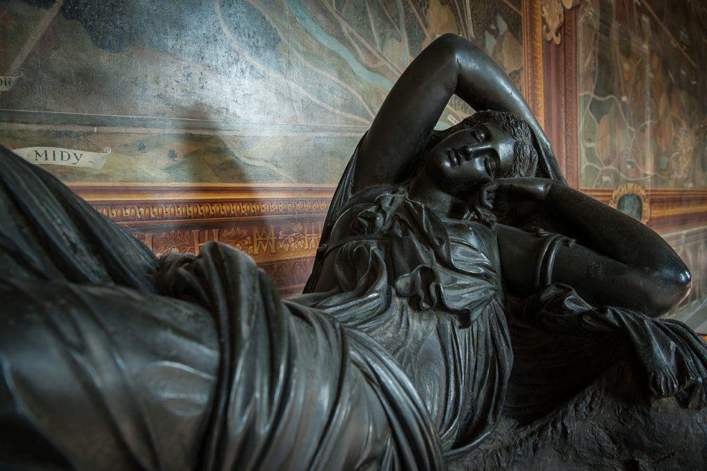 Ariane endormie - château de Fontainebleau