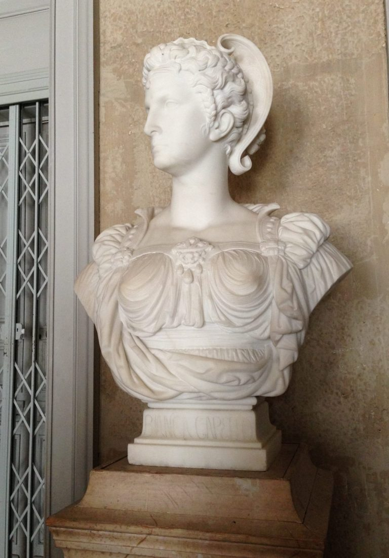 Bianca Capello - château de Fontainebleau