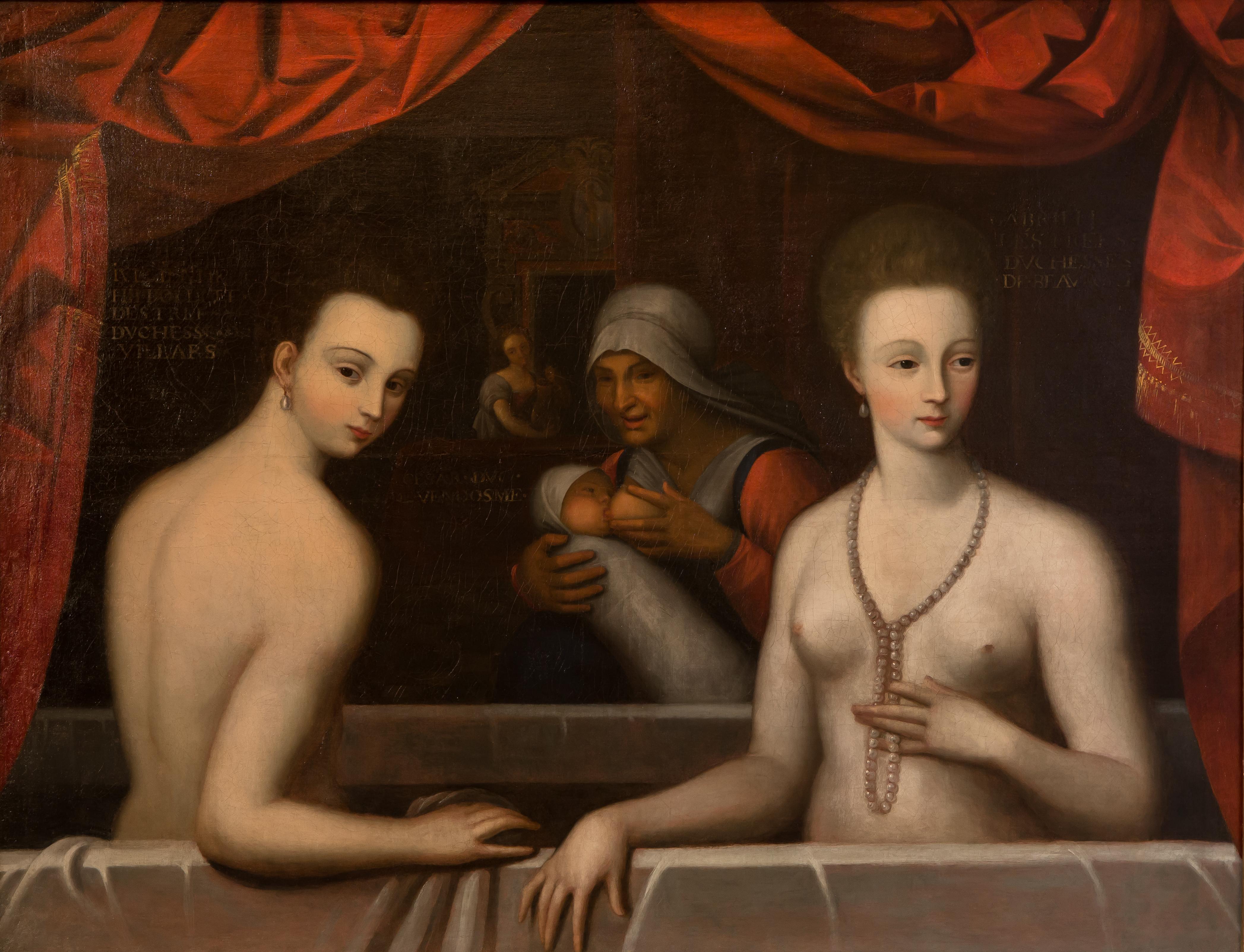 Ladies in the bath - château de Fontainebleau - © Sophie Lloyd