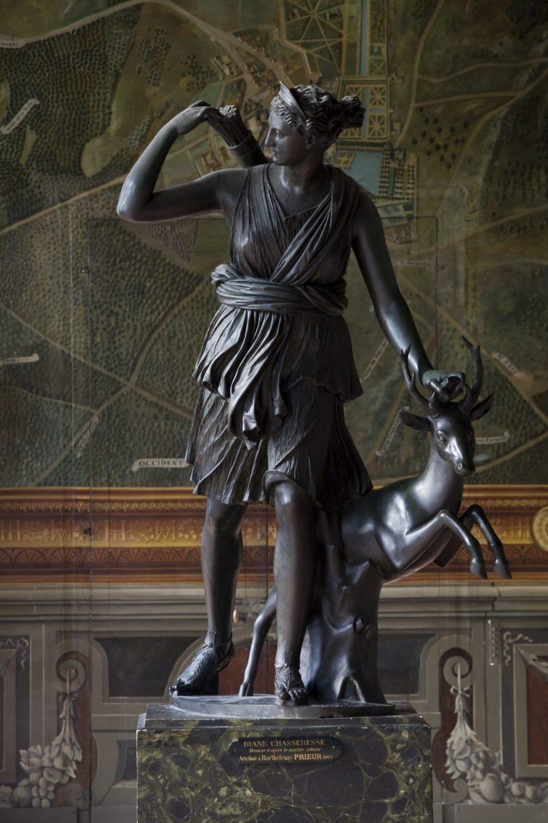 Diane à la biche de Barthélémy Prieur au château de Fontainebleau