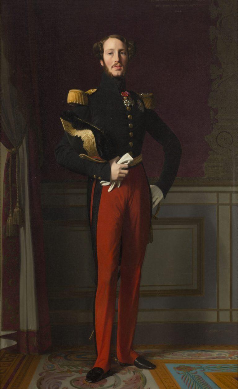 Ferdinand-Philippe duc d'Orléans - château de Fontainebleau