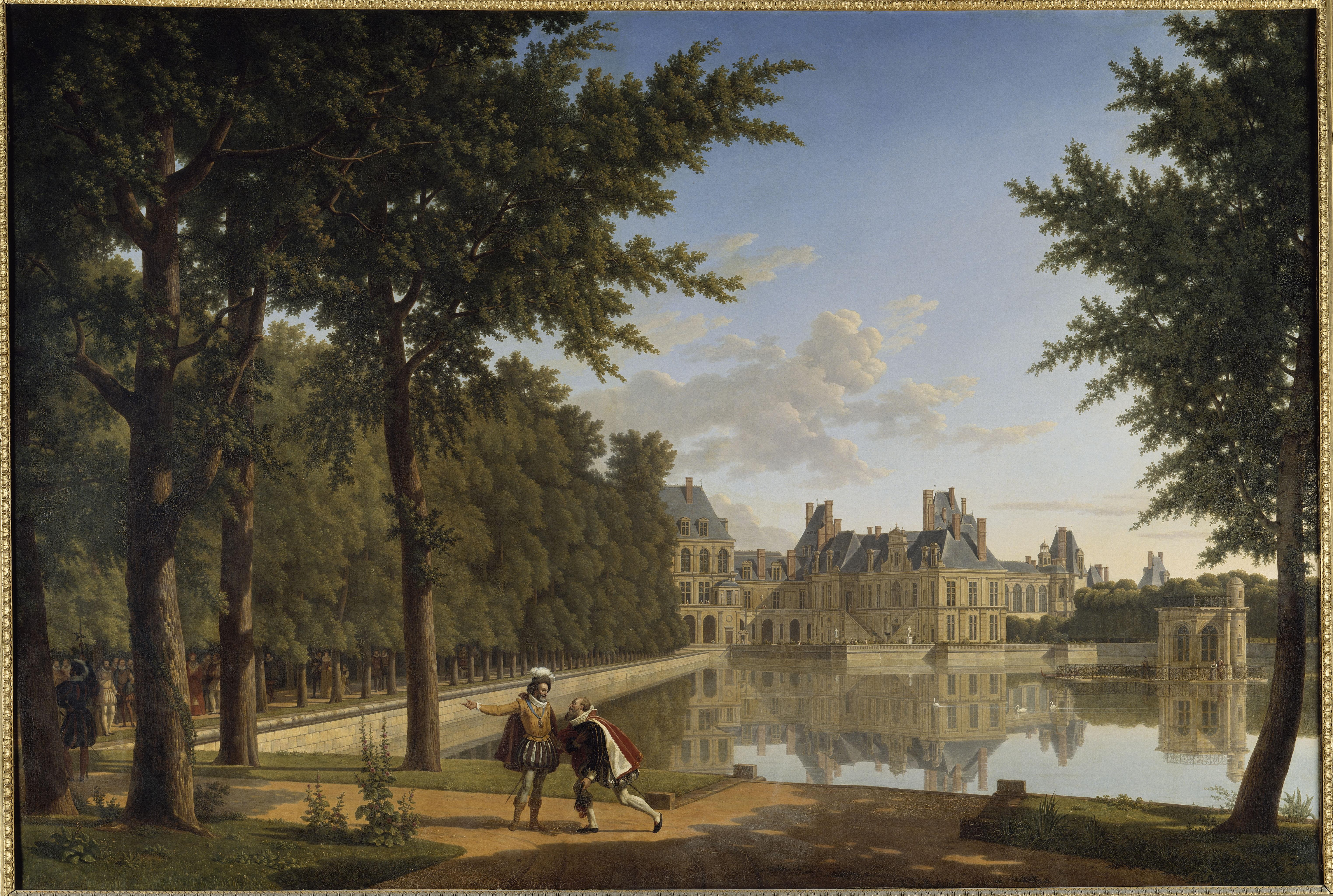 Henry IV raising Sully - château de Fontainebleau - © RMN Grand Palais