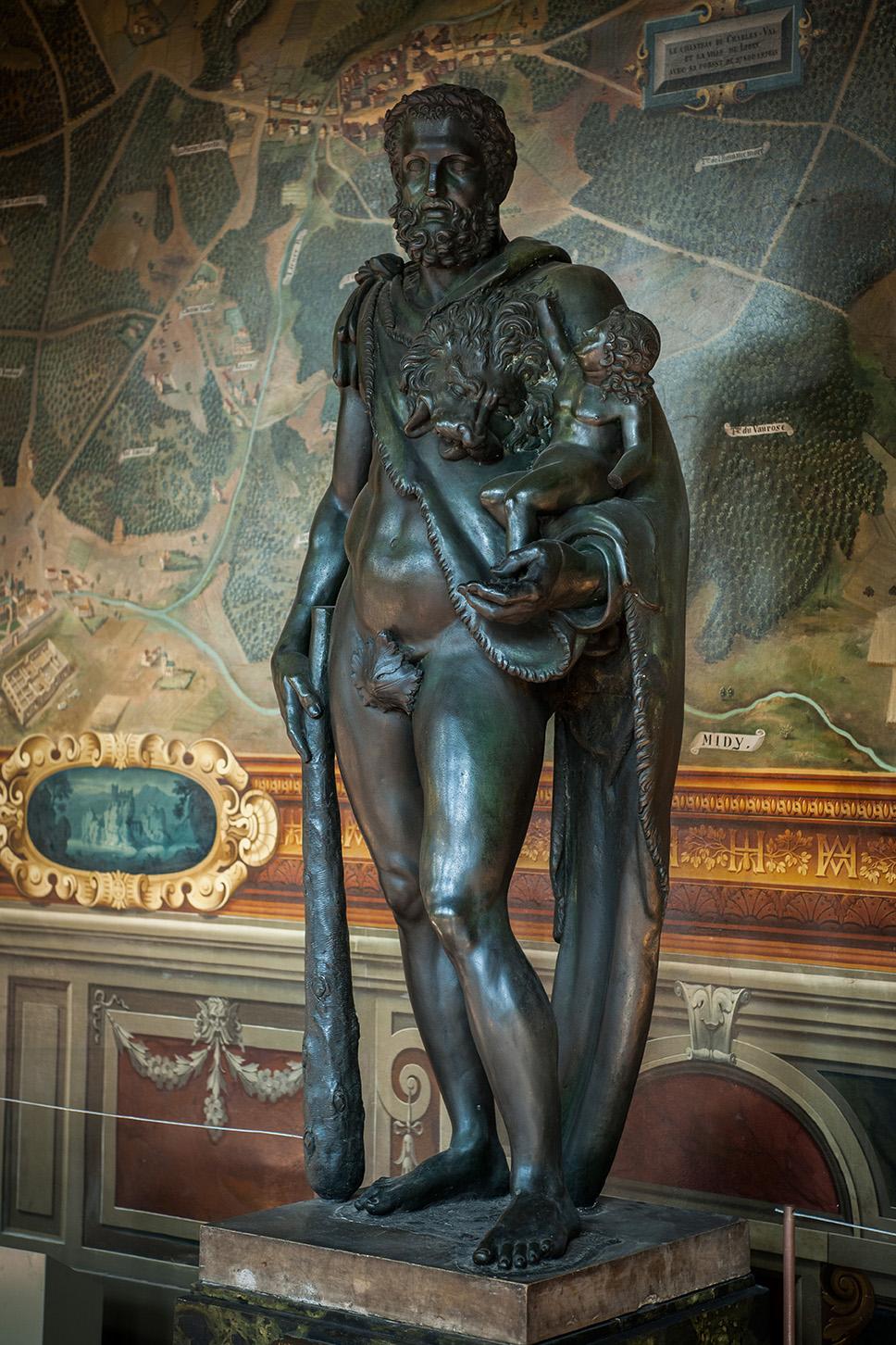 Hercule Commode - château de Fontainebleau