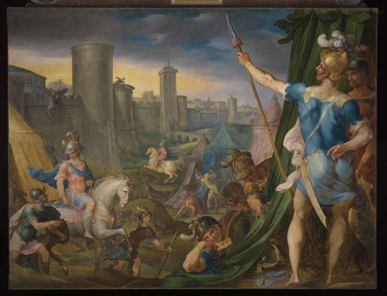 Histoire de Tancrède et Clorinde de Dubois Ambroise - château de Fontainebleau