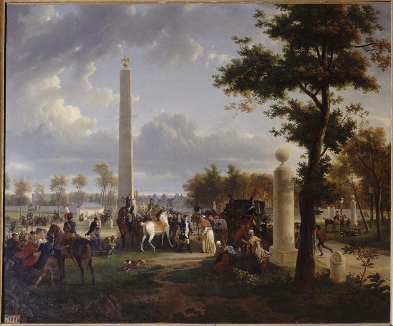 La-Rencontre-de-l'empereur-Napoléon-Ier-du-Pape-Pie-VII-château-de-Fontainebleau