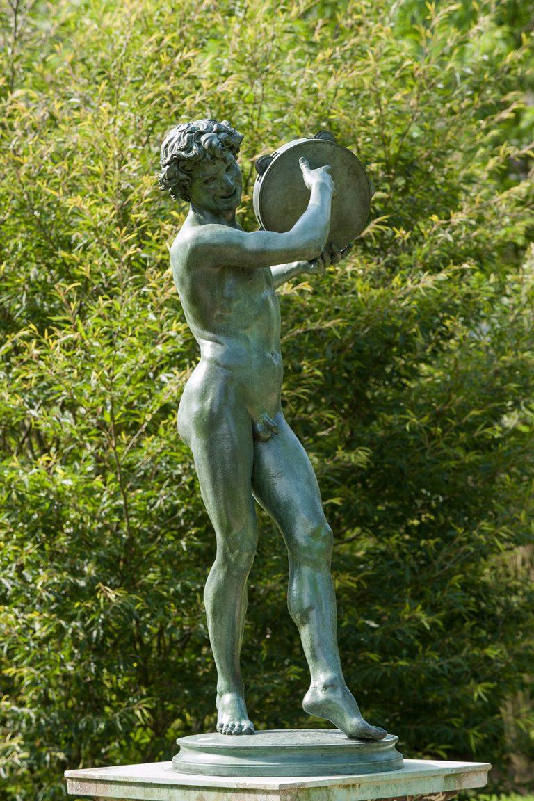 Le Danseur de saltarelle - château de Fontainebleau