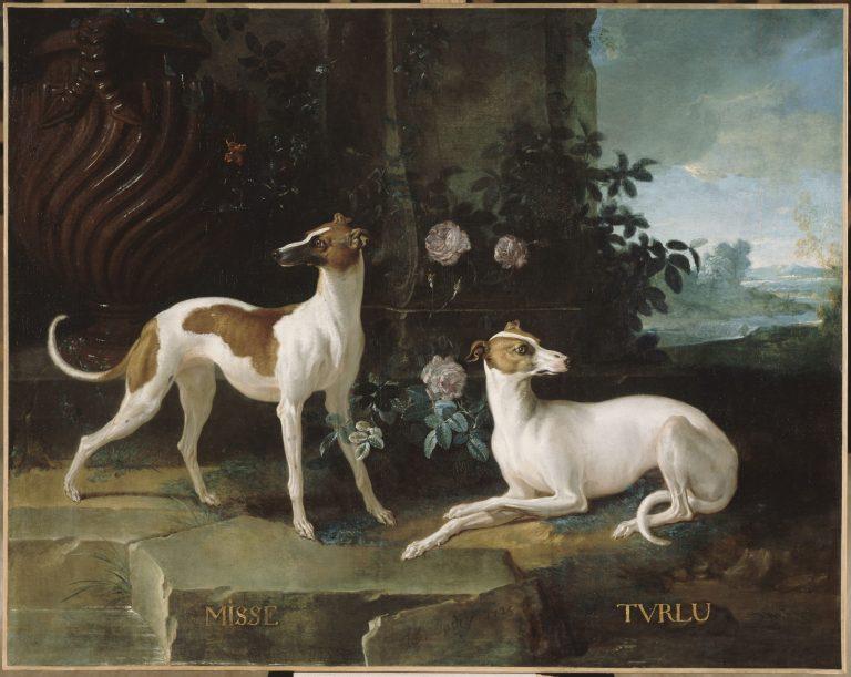 Misse et Turlu de Jean Baptiste Oudry - château de Fontainebleau