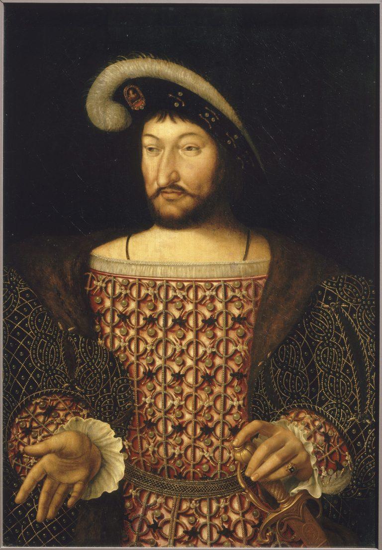 Portrait de François Ier - château de Fontainebleau