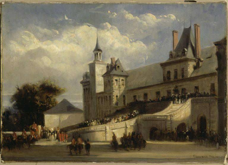 Réception de la princesse Hélène de Mecklembourg à Fontainebleau - château de Fontainebleau