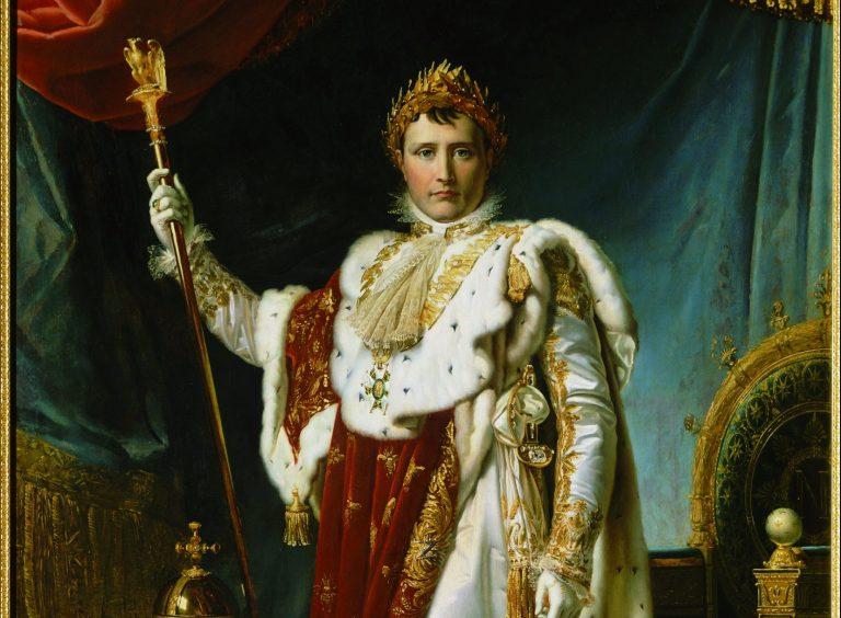 Napoléon en costume de sacre - château de Fontainebleau