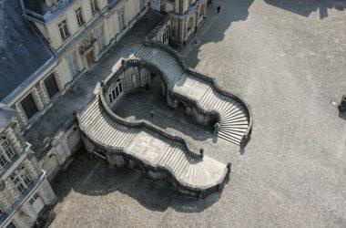 L'escalier en fer à cheval