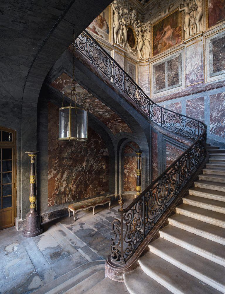 Escalier du roi, chambre de la duchesse d'Etampes - Château de Fontainebleau