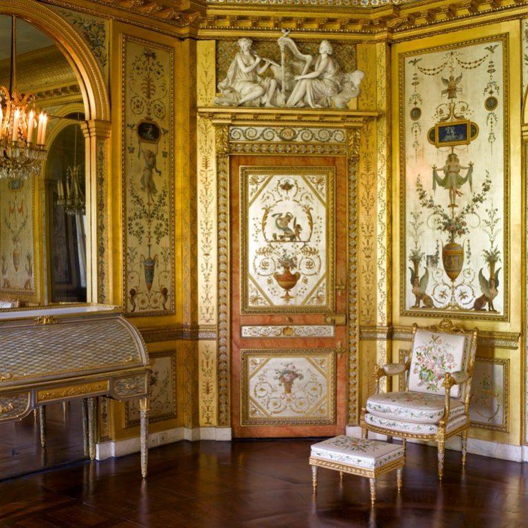 Boudoir de la reine - Château de Fontainebleau