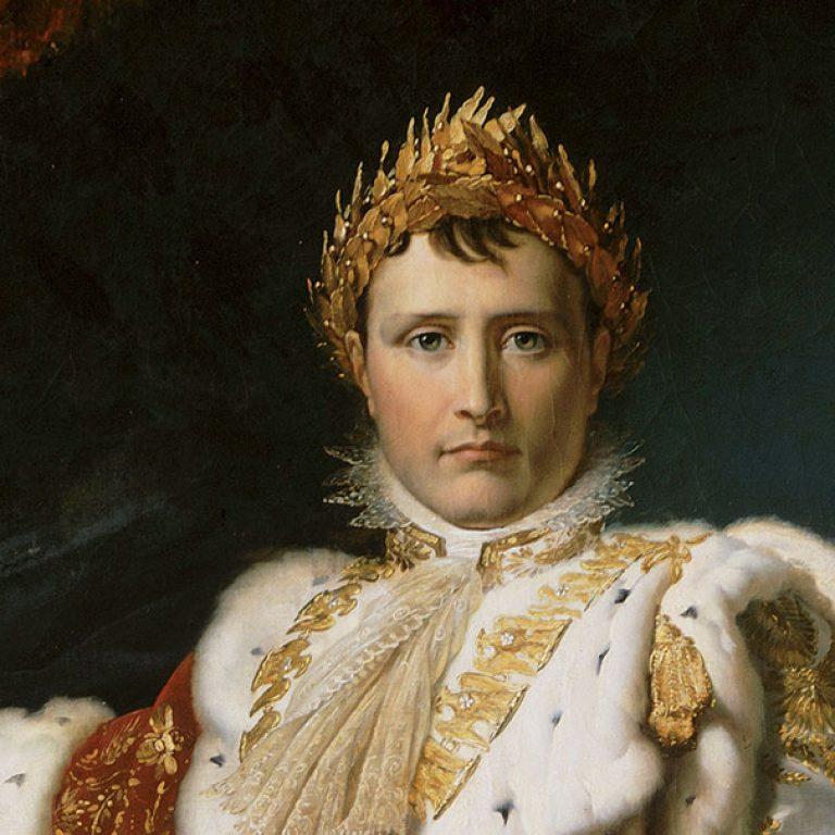 Napoléon Ier en costume de sacre. GERARD, Baron François (1770 - 1837)