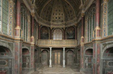Chapelle haute St Saturnin - Château de Fontainebleau