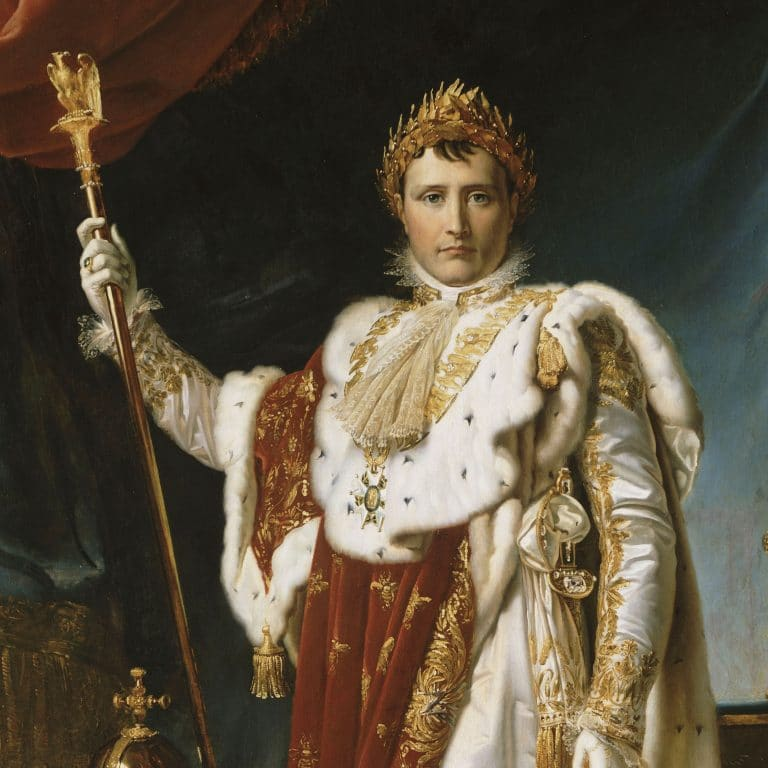 Napoléon en costume de sacre