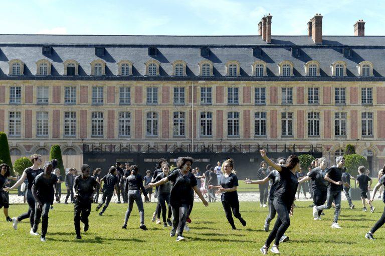 Danse au château de Fontainebleau