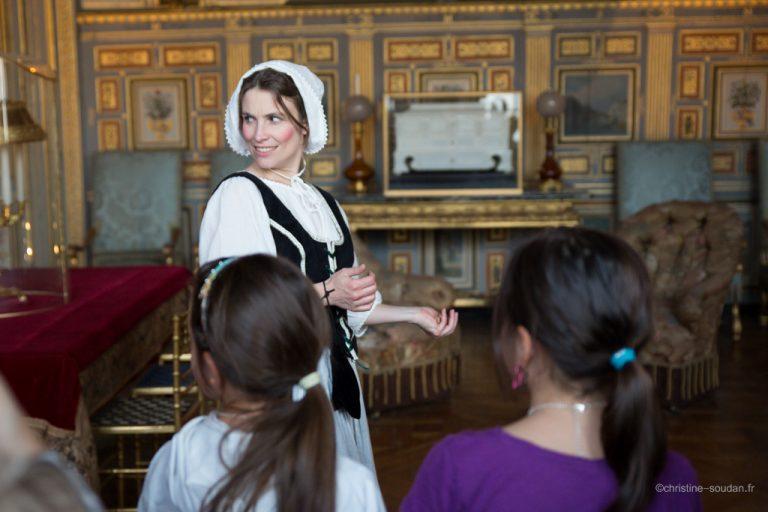 Initiation au théâtre au château de Fontainebleau