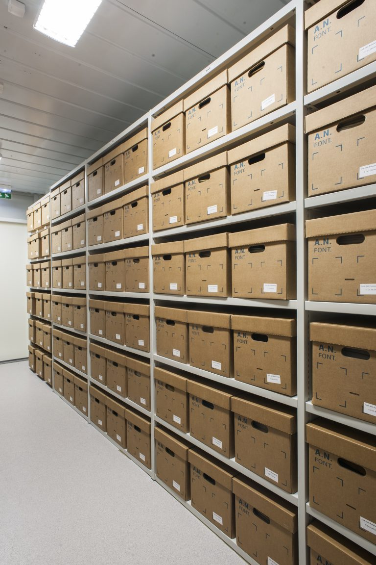 Archives at the château de Fontainebleau