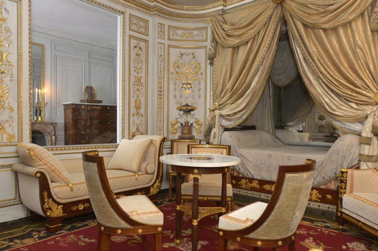 Boudoir Turc du château de Fontainebleau restauré grâce au mécénat