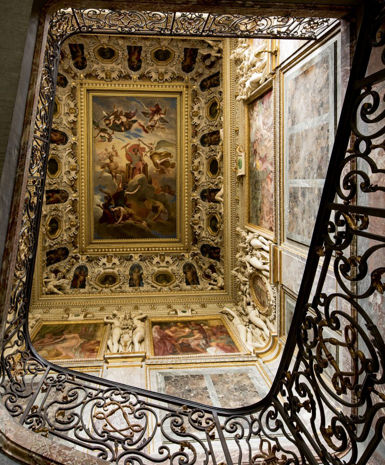 Chambre de la duchesse d'Etampes, escalier du roi - Château de Fontainebleau