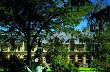 Diana Garden at the château de Fontainebleau