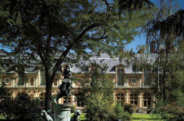 Jardin de Diane du château de Fontainebleau