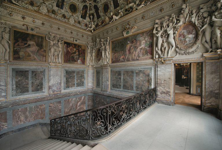 Chambre de la Duchesse d'Etampe du château de Fontainebleau