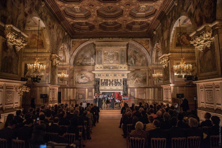 Concert dans la Salle de Bal du château de Fontainebleau