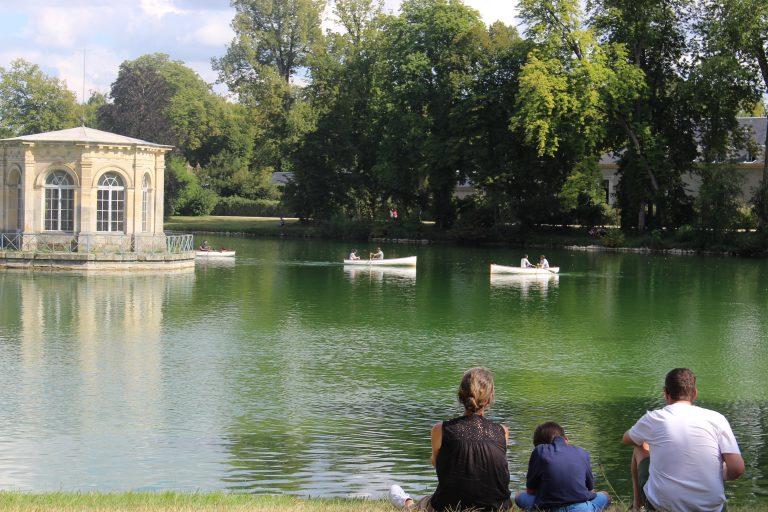 Etang aux Carpes du château de Fontainebleau