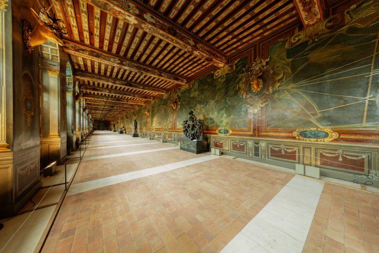 Galerie des Cerfs du château de Fontainebleau