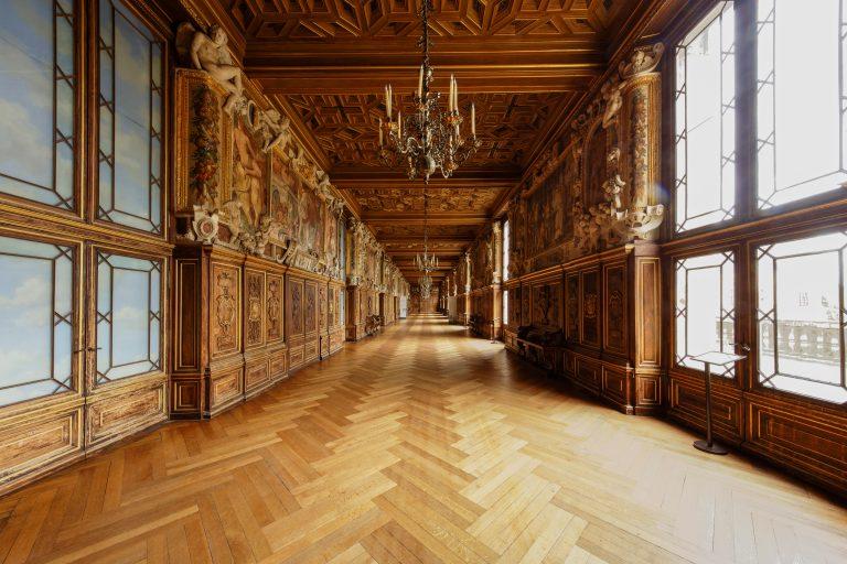 Galerie François Ier du château de Fontainebleau