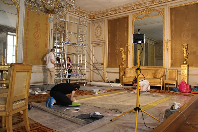 Salon Jaune des Petits Appartements du château de Fontainebleau