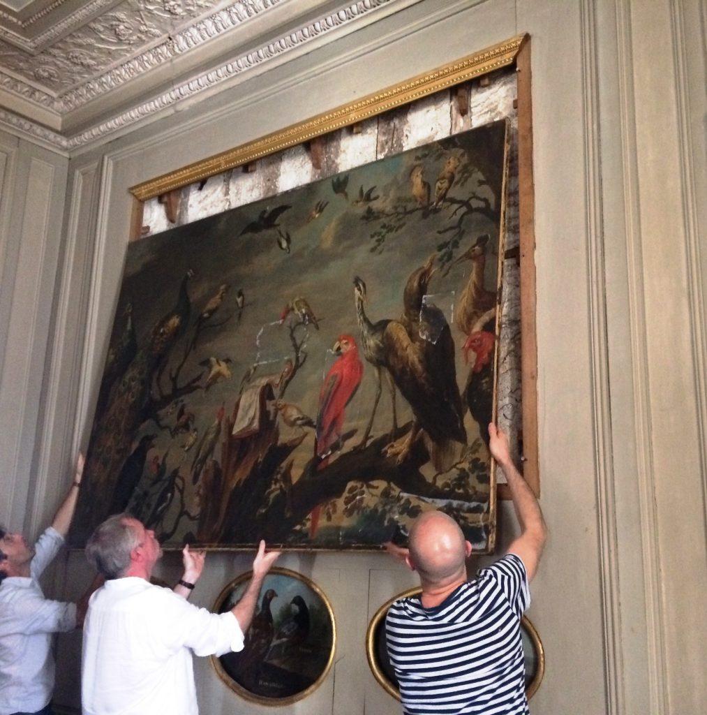 Salon des Oiseaux du château de Fontainebleau