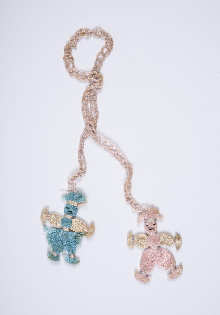 Good luck charm dolls given to Roland d'Esparbès by Magdeleine Beigneux