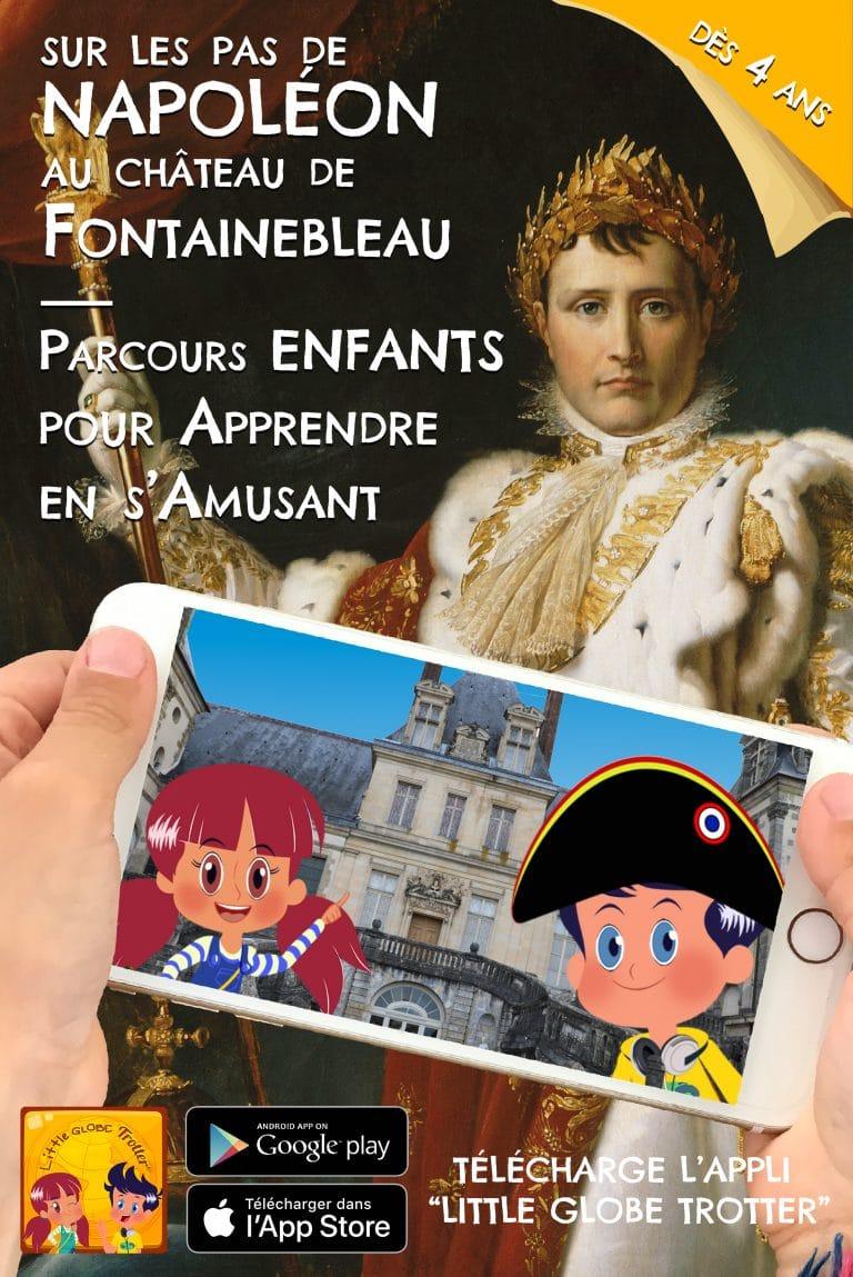 Application Little Globe Trotter du château de Fontainebleau