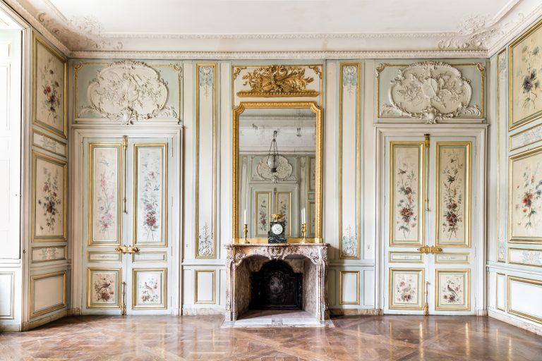 Salon des Fleurs du château de Fontainebleau
