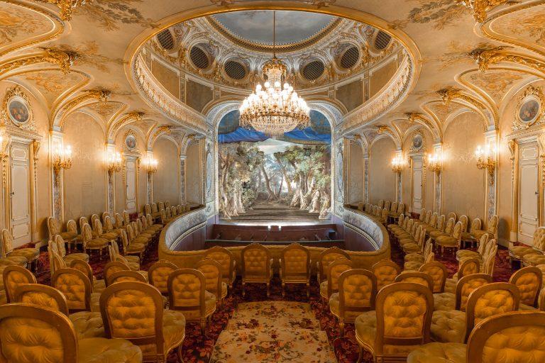 Théâtre Impérial du château de Fontainebleau restauré