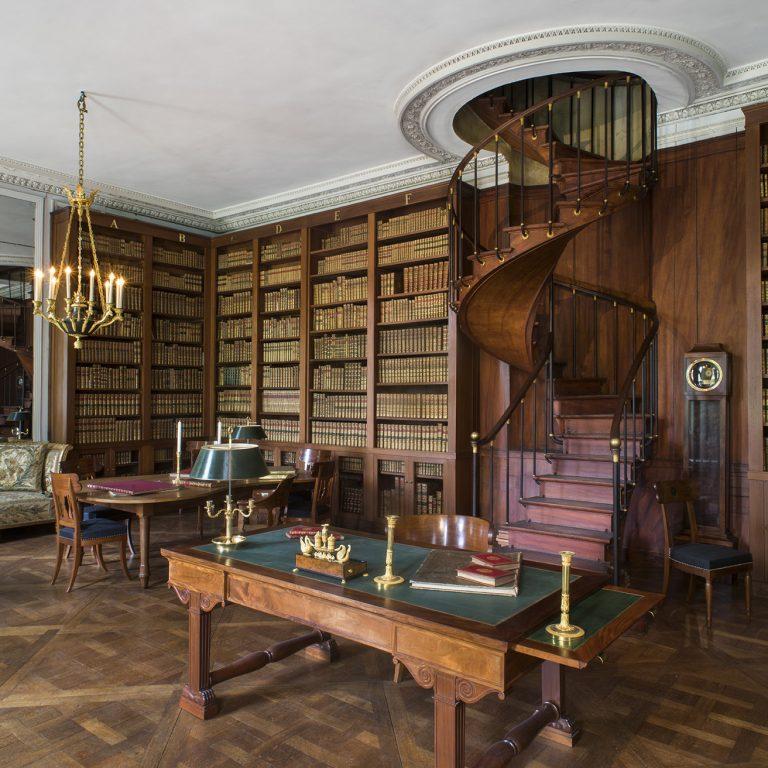 Bibliothèque particulière de l'Empereur du château de Fontainebleau