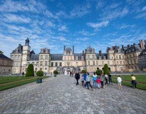 Fréquentation 2019 du château de Fontainebleau