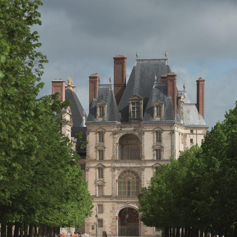 Allée de Maintenon - Château de Fontainebleau ©