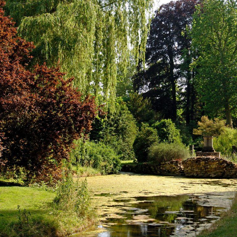 English Garden-Château de Fontainebleau