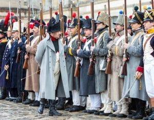 Reconstitutions historiques à la rencontre de Napoléon Ier