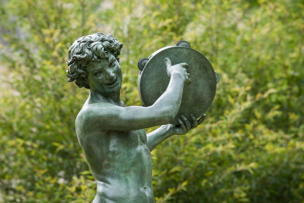 Jardin de Diane - Le Danseur de Saltarelle - © Serge Reby