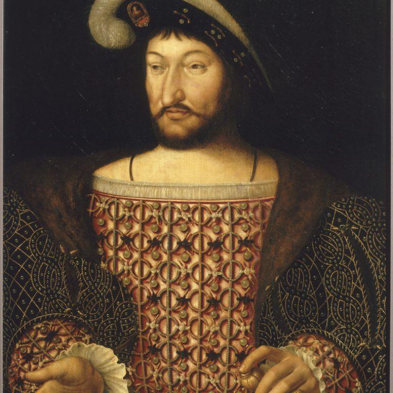 Francis I - - Joos Van Cleve (c) RMN