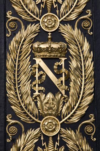 Grille de la cour d'honneur- château de Fontainebleau (c) Sophie Lloyd