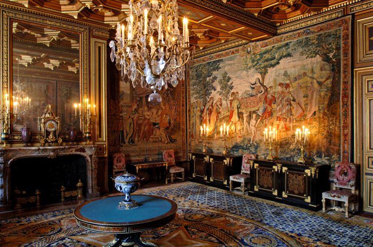 Salon des tapisseries- Château de Fontainebleau