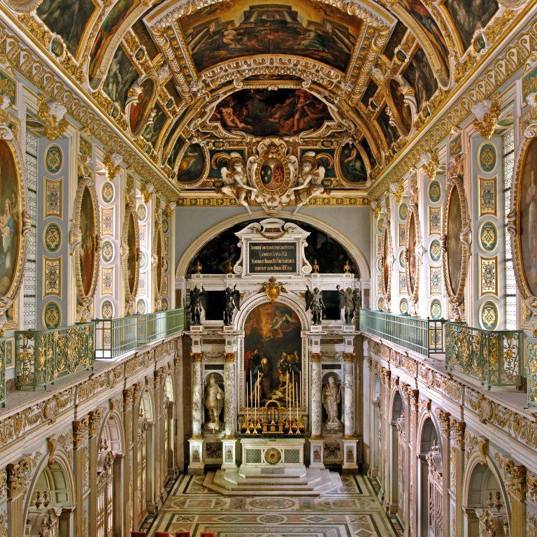 Chapelle de la Trinité-Château de Fontainebleau © Jérôme Schwab