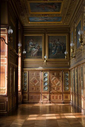 Galerie des assiettes- Château de Fontainebleau